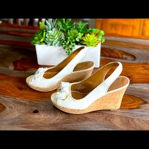 Sperry wedge in white